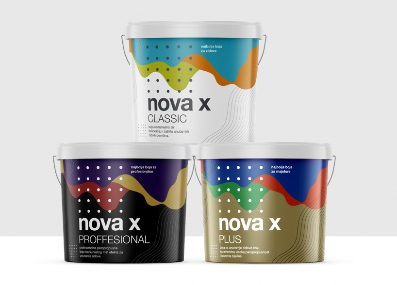 Brand Identity for a New Line of Interior Paints