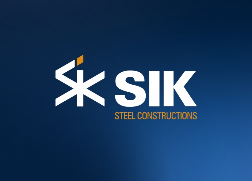 Logo design SIK Steel Constructions