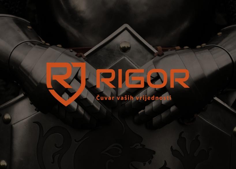 Vizualni identitet tvrtke Rigor