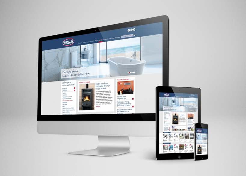Website development for Vokel Company