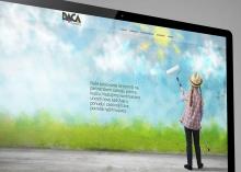 Dizajn vizualnog identiteta i web stranica Daca Commerce