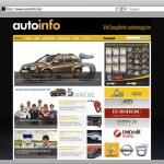 shift.ba grafički dizajn, autoinfo web stranica