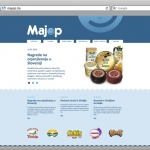 dizajn web stranice majop mostar