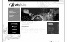 dizajn web stranica hotela city mostar