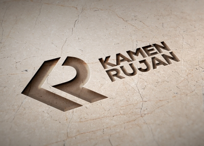 The visual identity of the Kamen Rujan brand