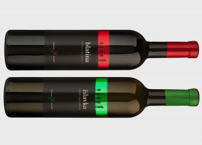 Brand identity of Mališić wine