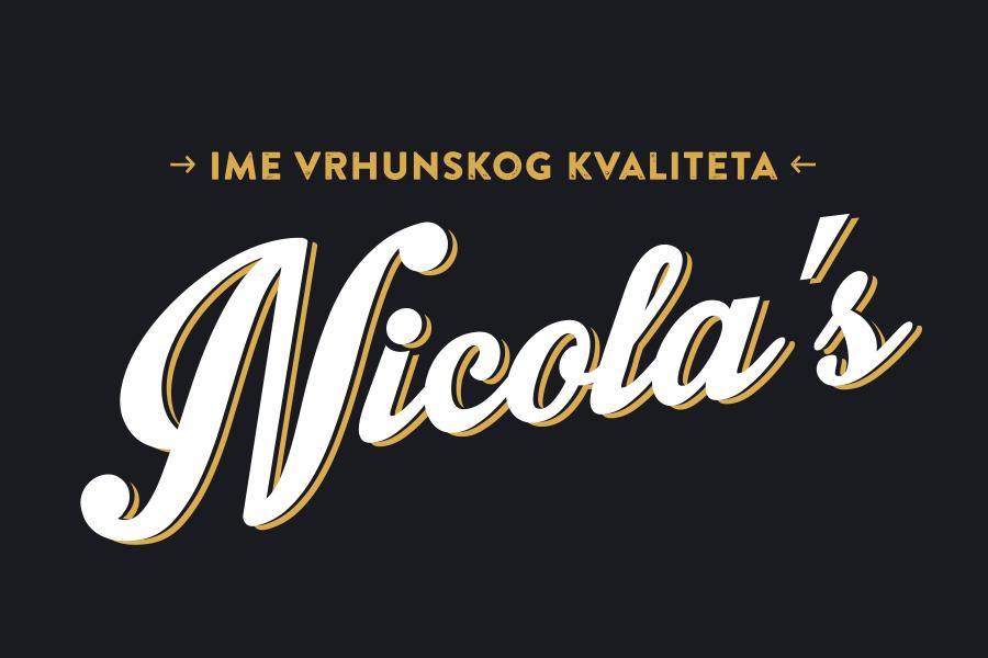 Verbalni i vizualni identitet robne marke Nicola's