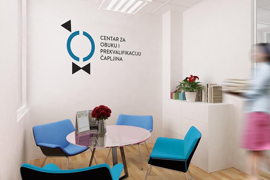 Vizualni identitet Centra za obuku i prekvalifikaciju Čapljina