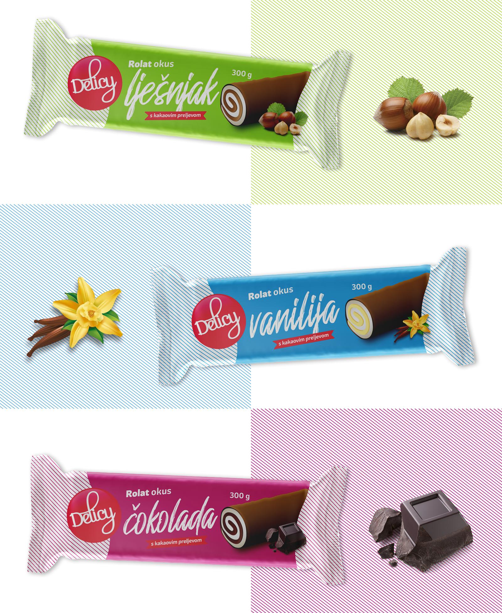Dizajn pakiranja branda Delicy