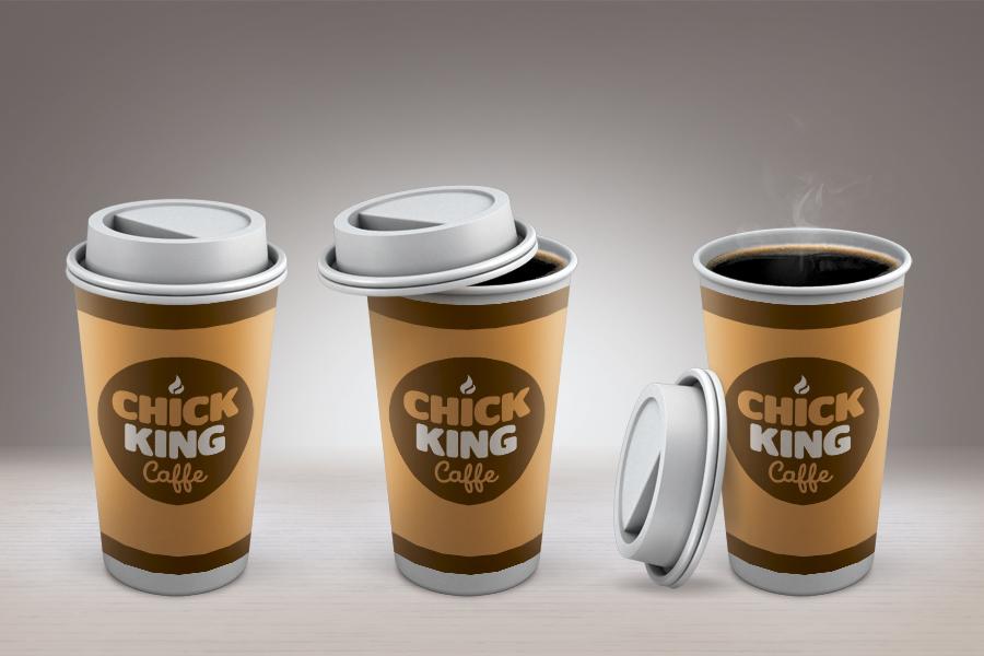 vizualni identitet chick king dizajn shift agencija
