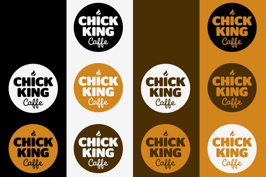 dizajn vizualnog identiteta chick king shift