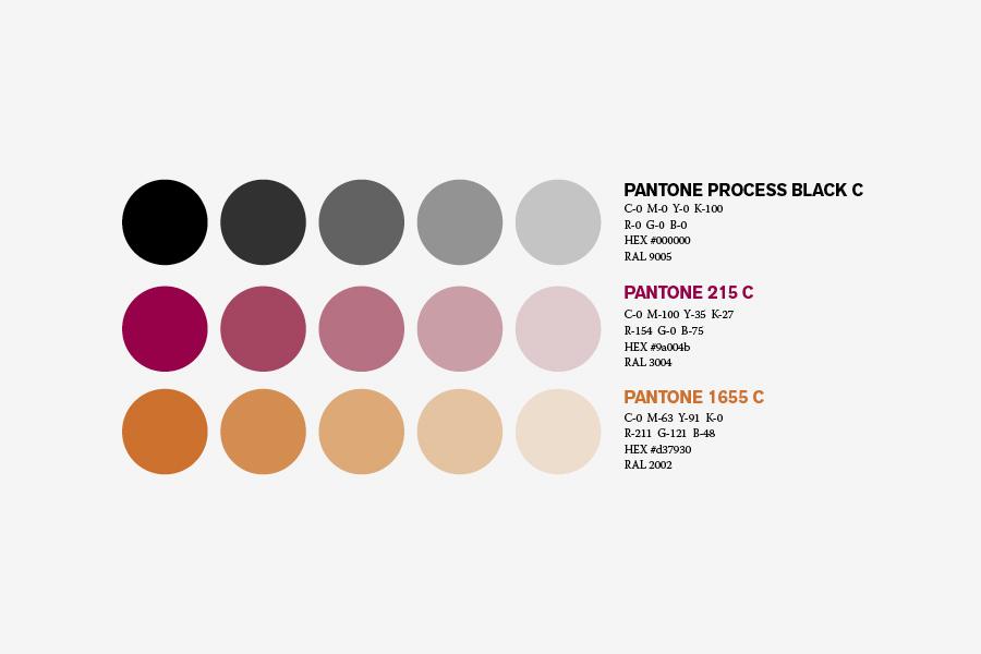 vizualni identitet city hotel mostar paleta boja shift