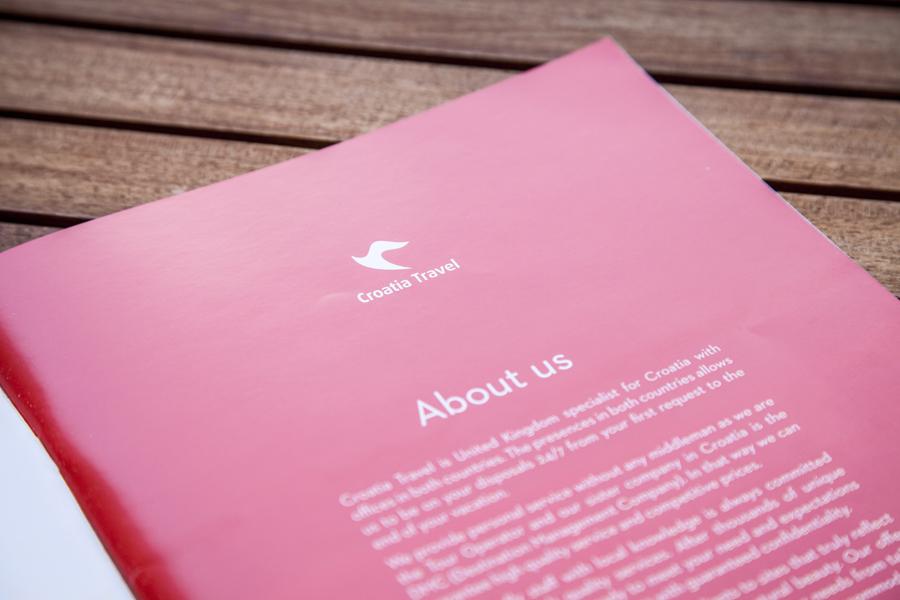 dizajn kataloga croatia travel