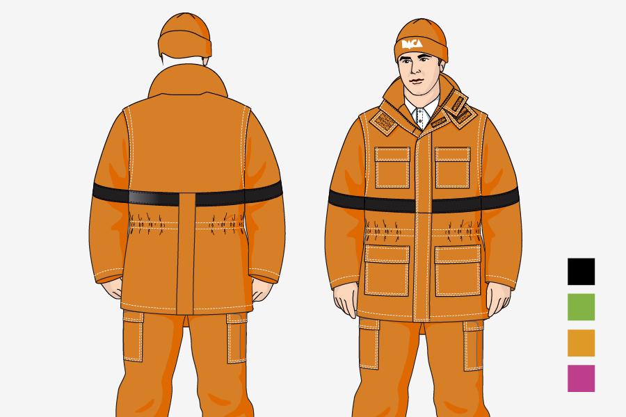 vizualni identitet daca commerce - dizajn odijela