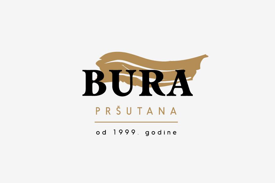 grafički dizajn shift mostar logotip bura pršutana