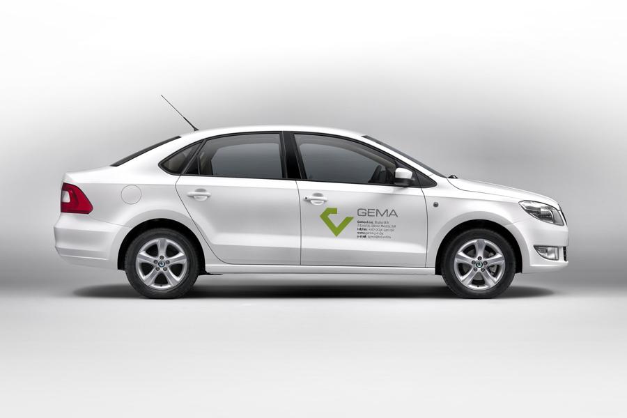 vizualni identitet gema d.o.o. oslikavanje vozila