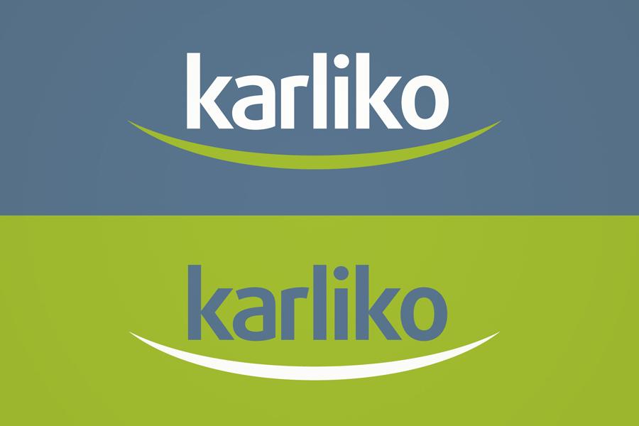 vizualni identitet karliko , dizajn logotipa, shift agencija mostar