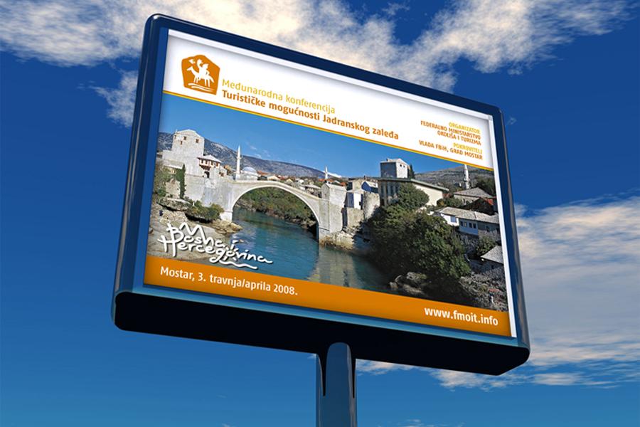 Međunarodna konferencija o turizmu, billboard, shift dizajn