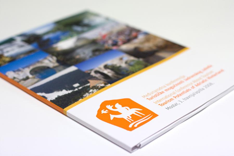 Međunarodna konferencija o turizmu, dizajn fascikle