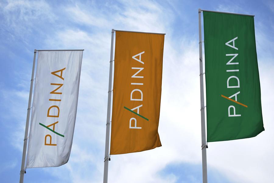 vizualni identitet padina zastava