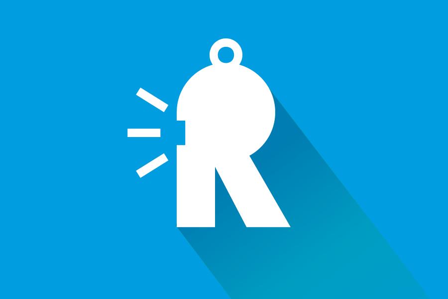 Vizualni identitet Renata, shift agencija, negativ logotipa
