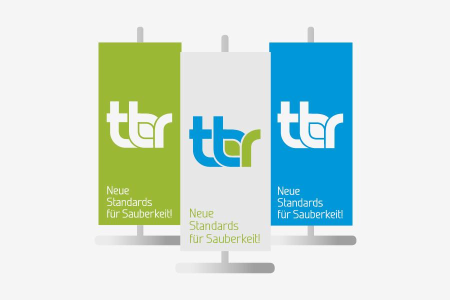 Vizualni identitet TBR GmbH, München, agencija shift Mostar