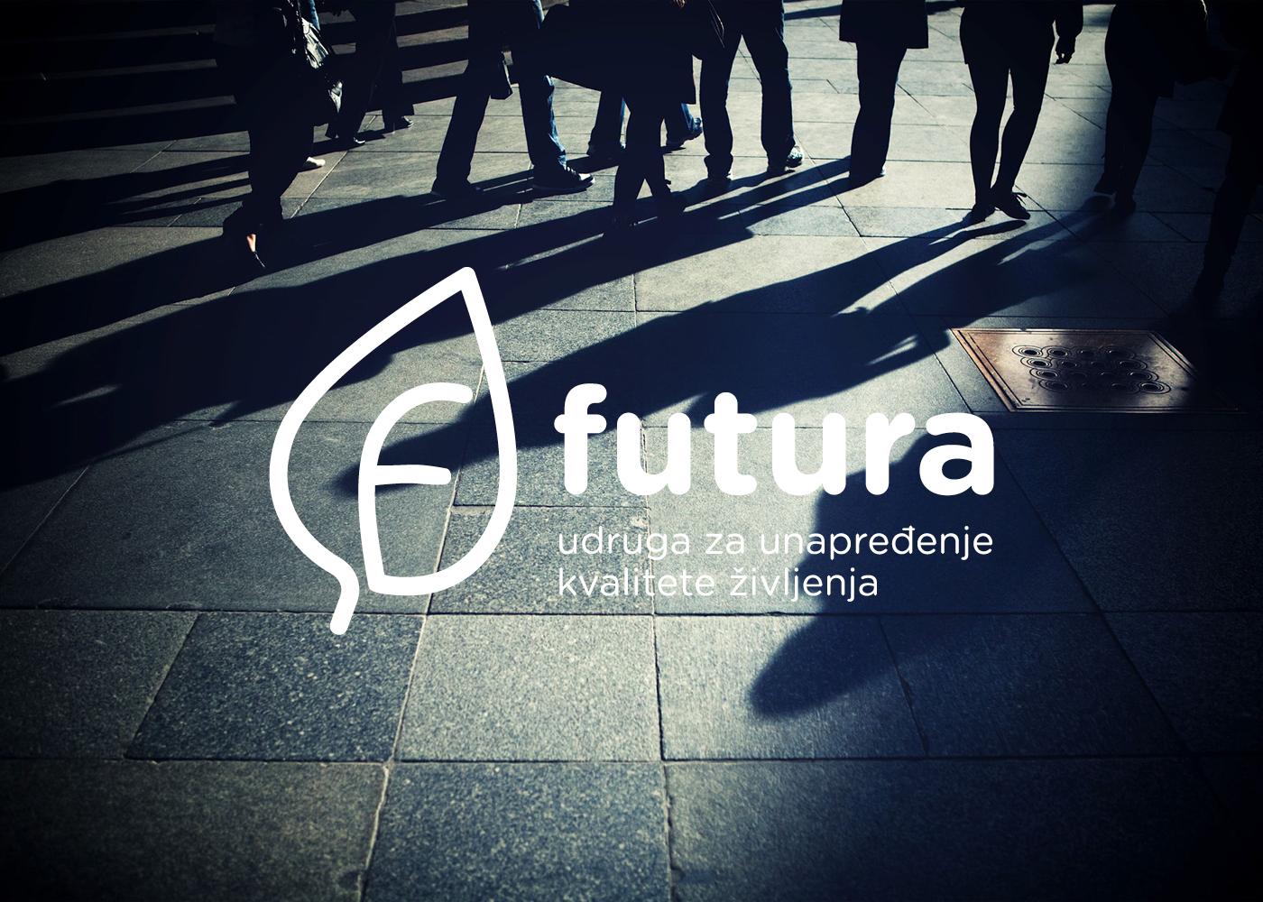 Vizualni identitet udruge za unapređenje kvalitete življenja Futura