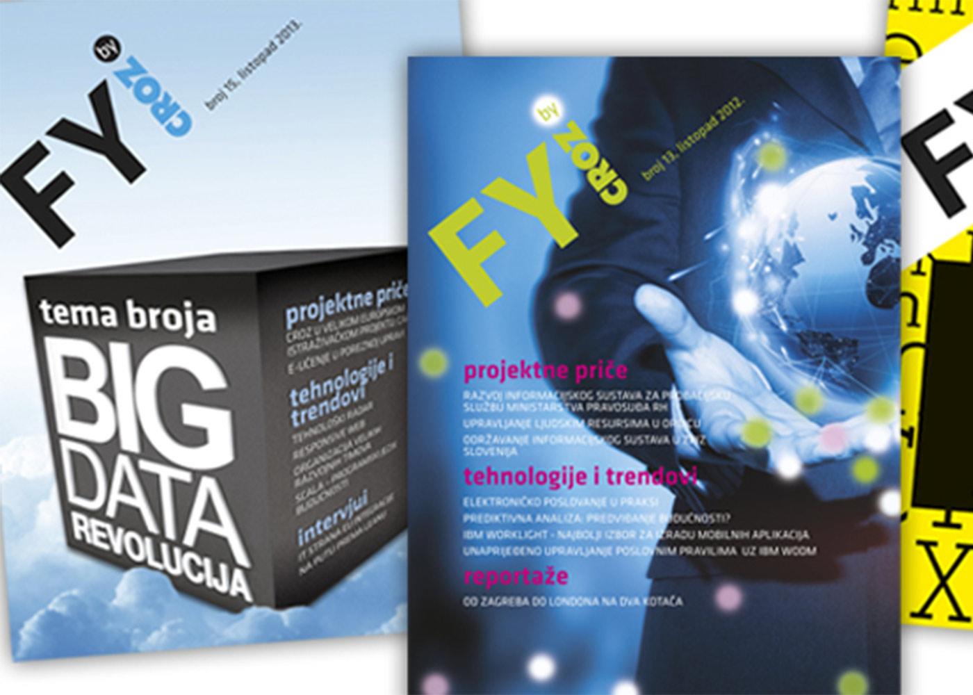 Dizajn informativnog časopisa FYI