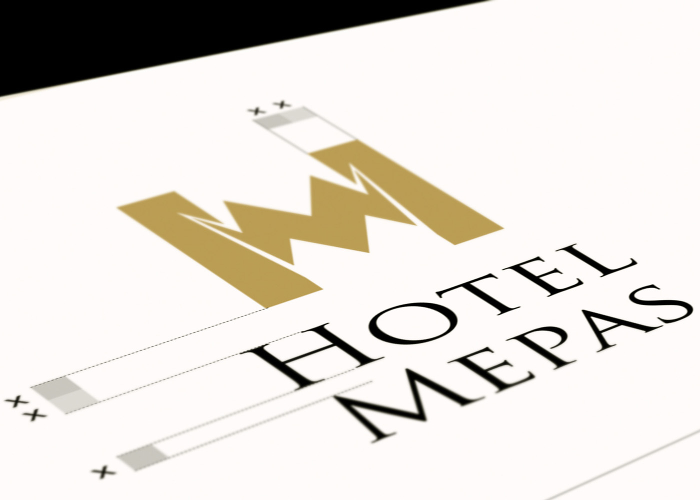 Graphic Standard Manual and Web Design for Hotel Mepas