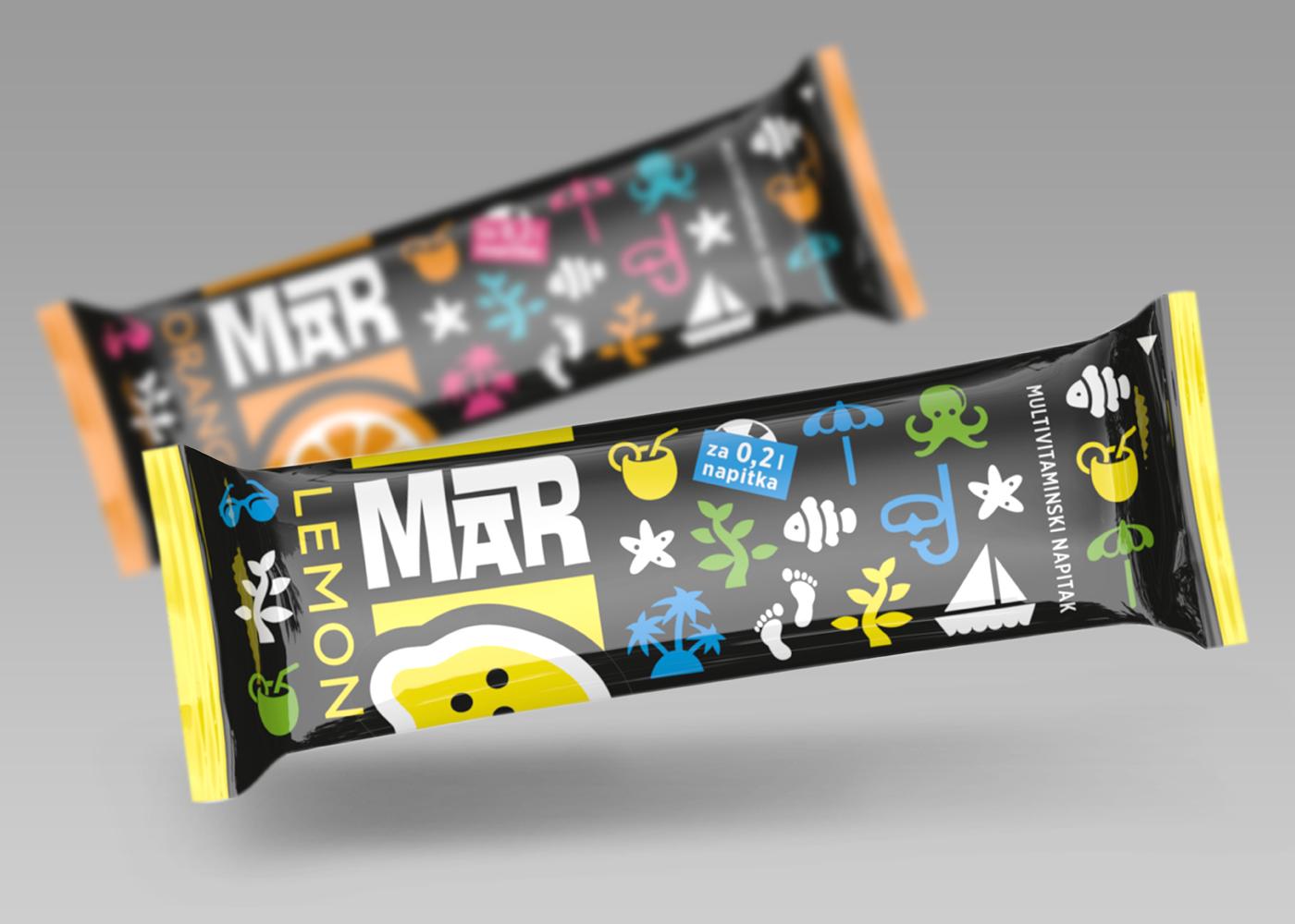 Brend identitet za novi vitaminski napitak MAR