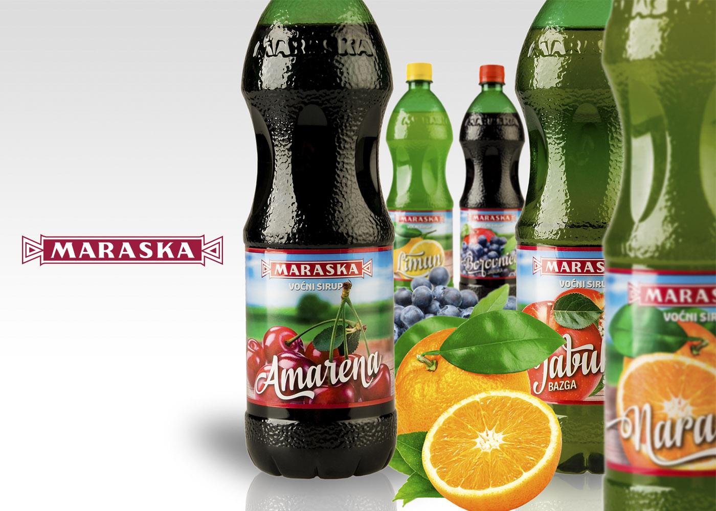 Redizajn ambalaže voćnih sokova Maraska