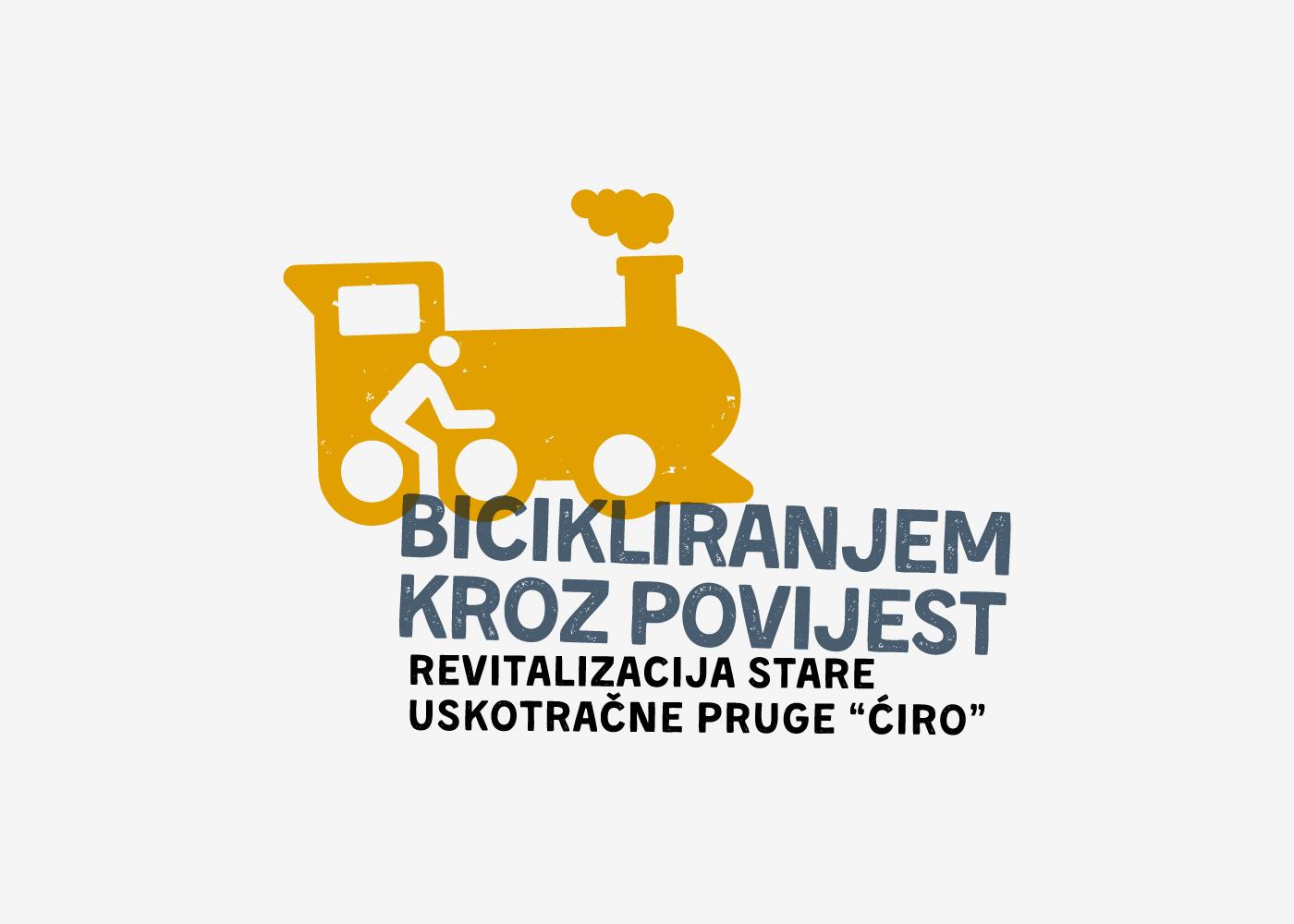 """Vizualni identitet projekta """"Bicikliranjem kroz povijest"""""""