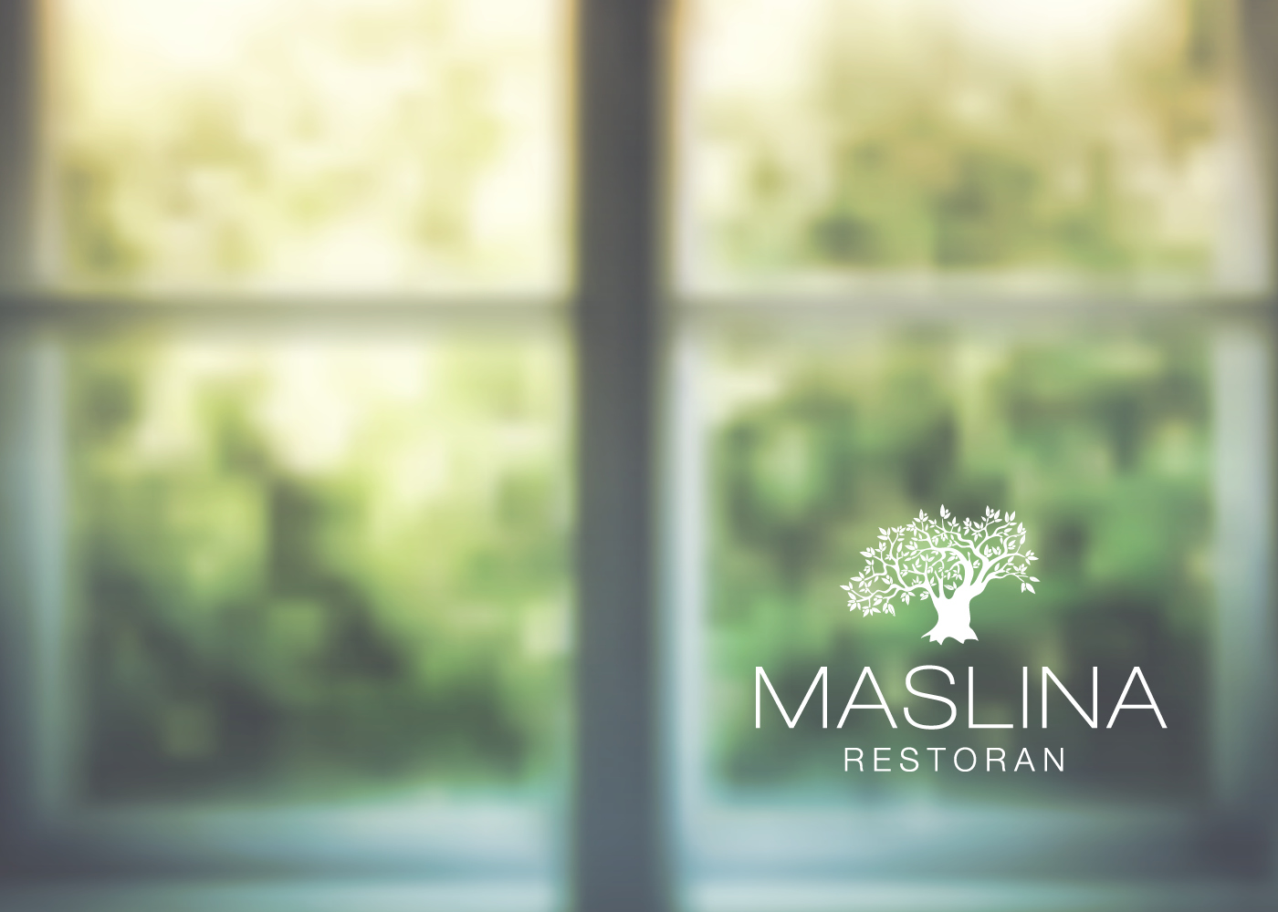 Dizajn logotipa Restoran Maslina