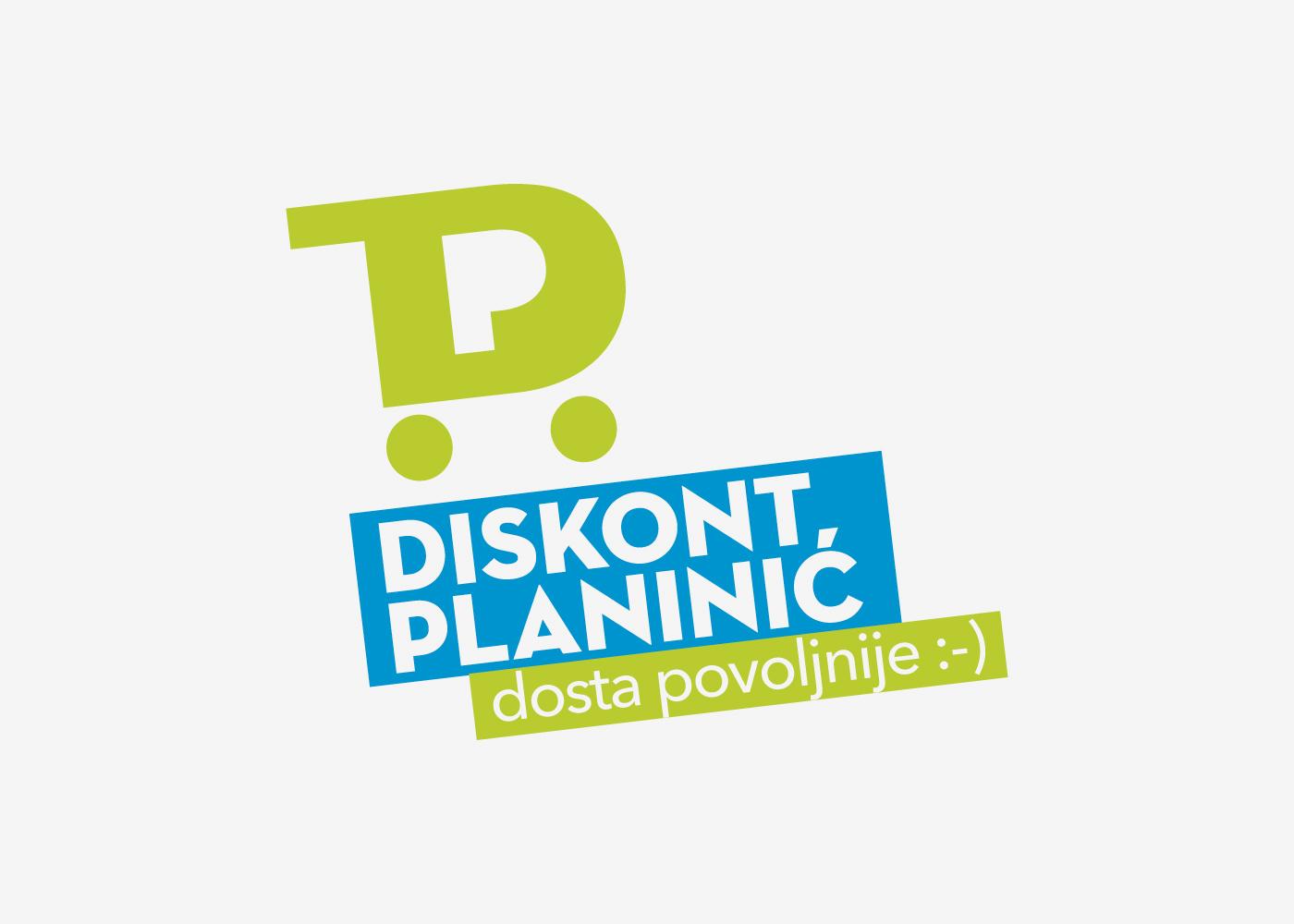 Vizualni identitet i promotivna kampanja lanca trgovina Diskont Planinić