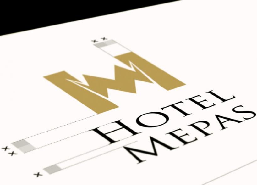 Libro degli standard grafici e del design della pagina web dell'Hotel Mepas