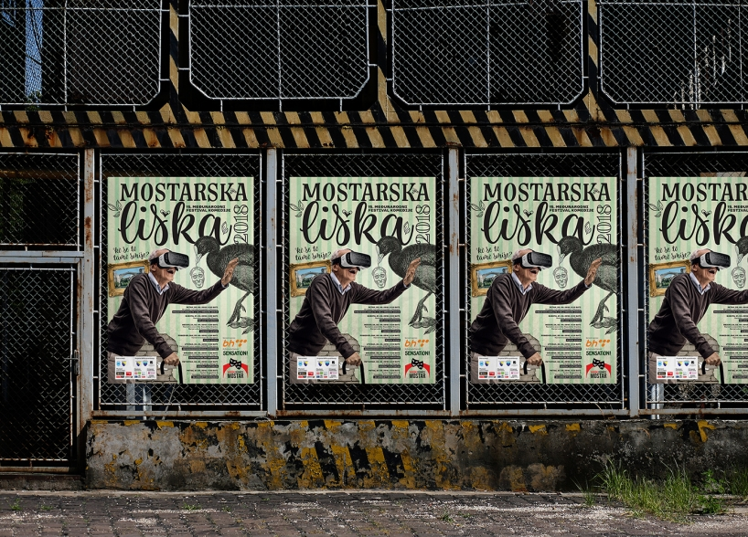 Identity, promotional campaign and graphics for the annual comedy festival in Mostar