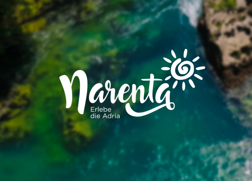 Visual identity of Narenta travel agency