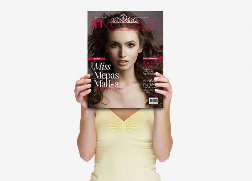 "Dizajn event identiteta i promotivne kampanje za ""Lice s naslovnice i Miss Mepas Mall-a by Anica Kovač"""