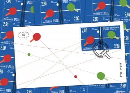 Prigodna poštanska marka povodom Međunarodnog dana sporta