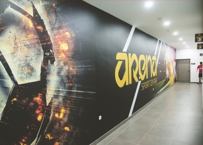 Vizualni identitet novoizgrađenog sportskog centra Arena u Mostaru