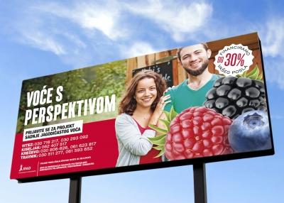 Medijska kampanja promocije jagodičastog voća