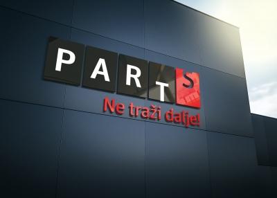 Vizualni identitet centra za tehnički pregled vozila Parts